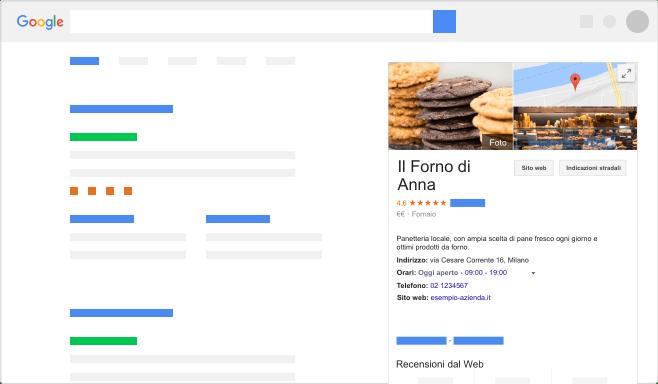 scheda aziendale google my business