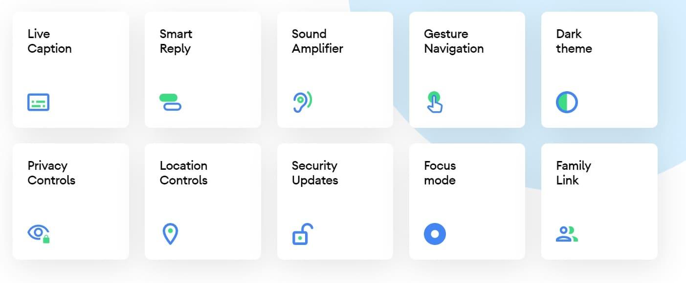 android 10 novità