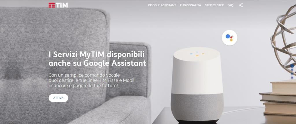 assistente google tim
