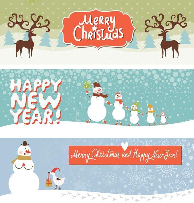banner sito web natalizio