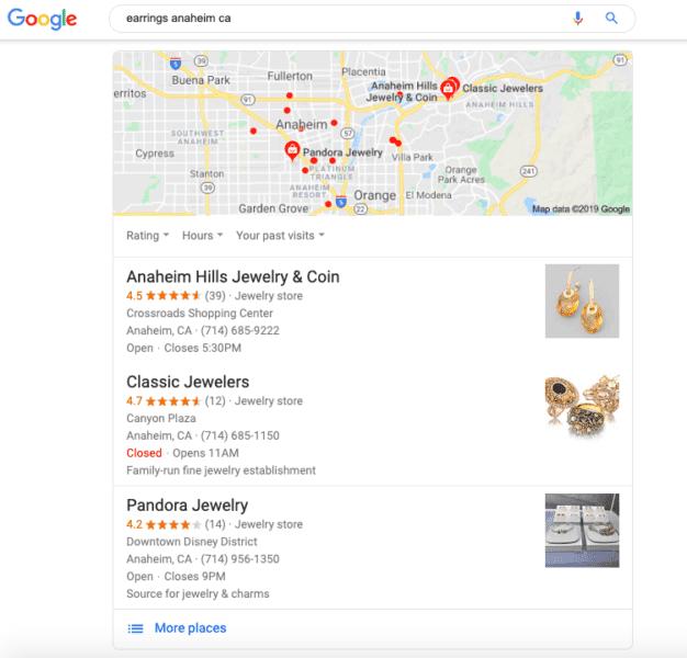 foto prodotti scheda google my business