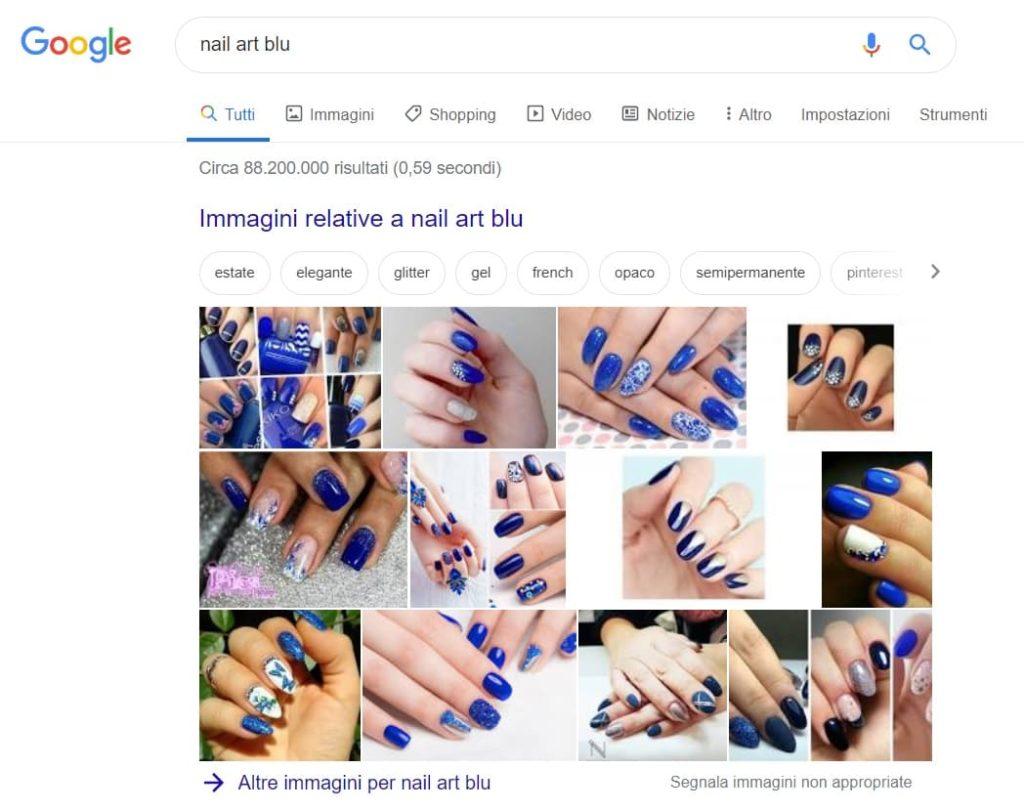 google ricerca immagini nail art