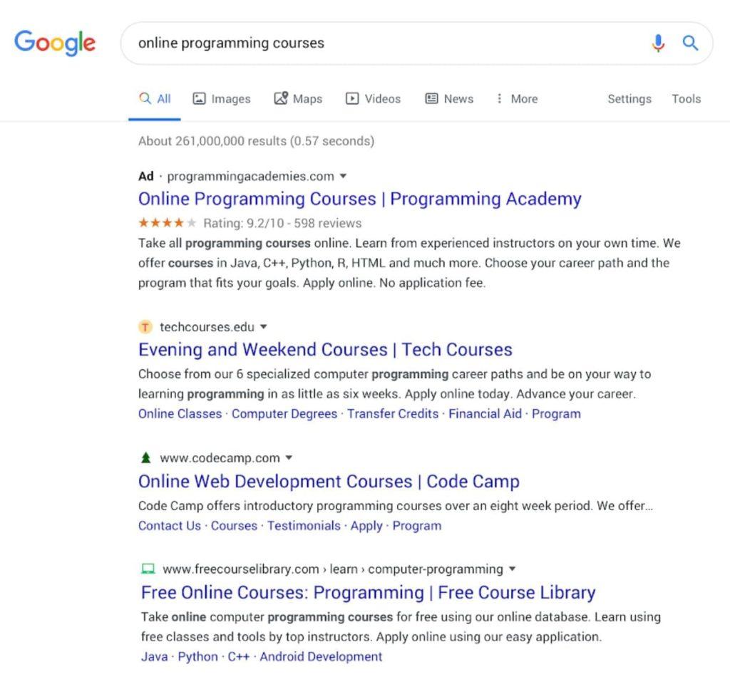 nuovo google ricerca gennaio 2020