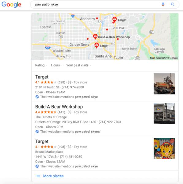 ricerca google paw patrol skje