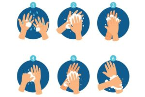 Il Doodle di Google dedicato all'importanza di lavarsi le mani