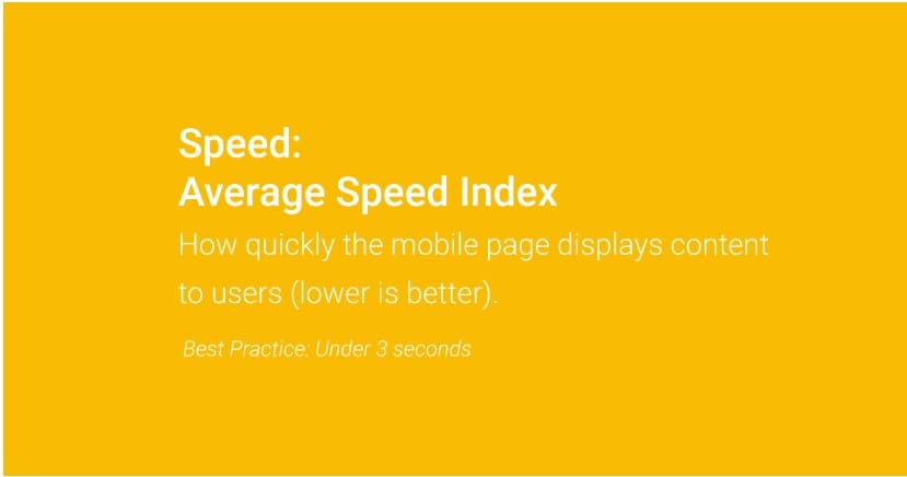 velocità caricamento pagine web ideale