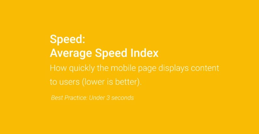 Google page speed ottimale