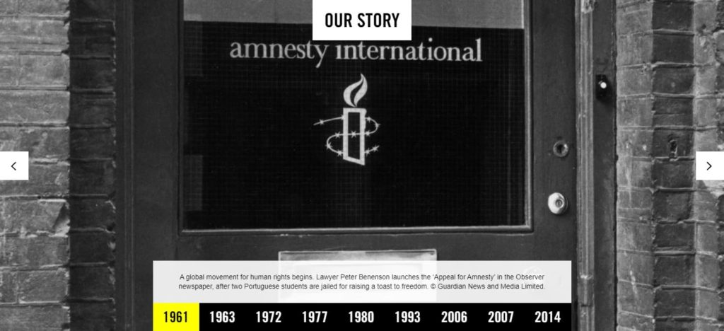 pagina chi siamo Amnesty International