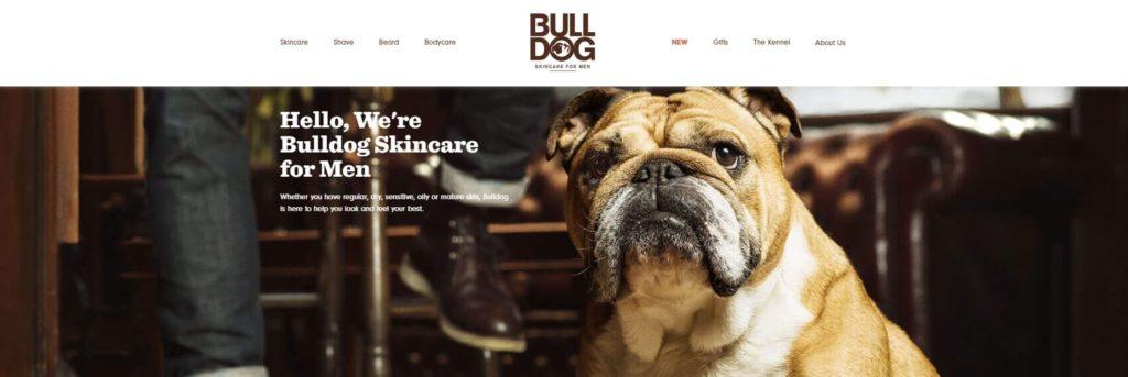 pagina chi siamo Bulldog Skincare