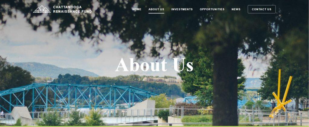pagina chi siamo Chattanooga Renaissance Fund