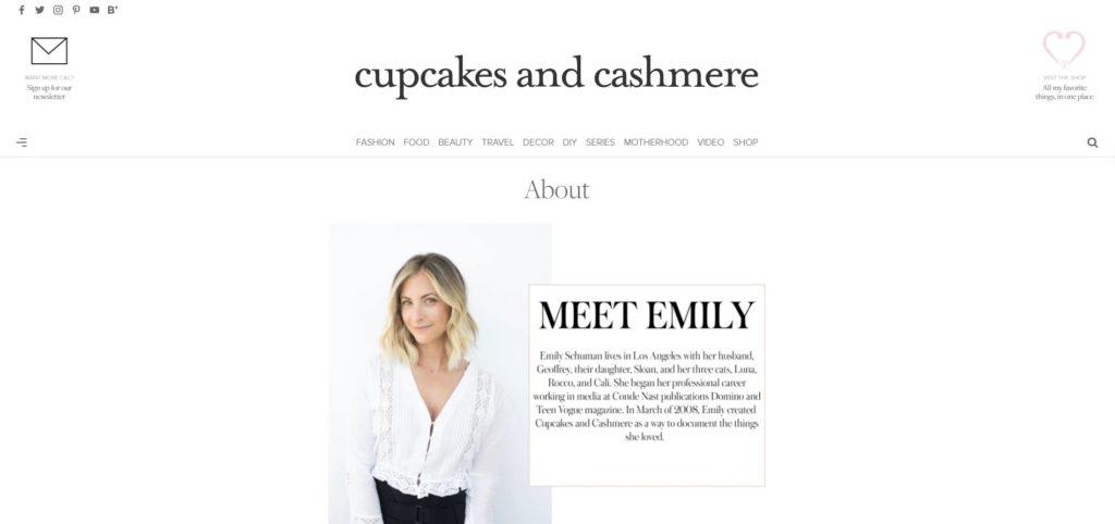 agina chi siamo Cupcakes e Cashmere