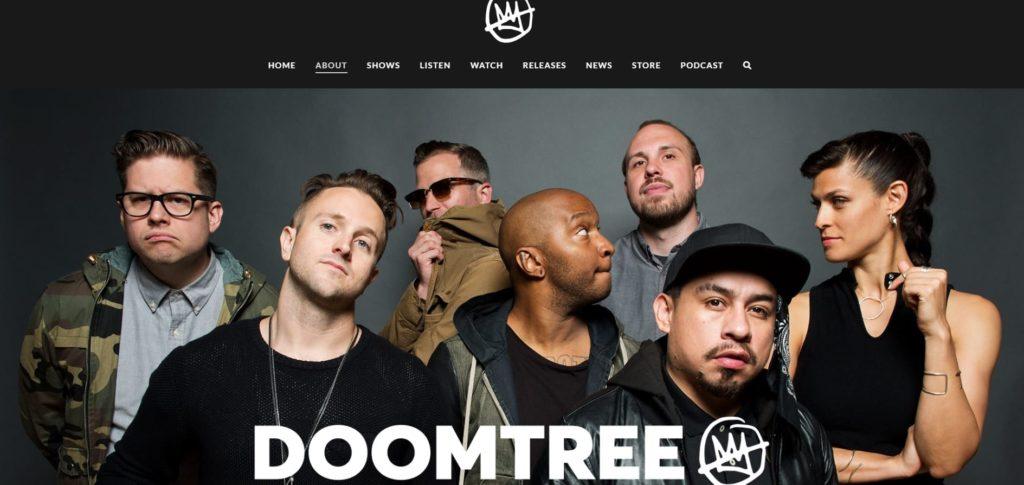 pagina chi siamo DoomTree
