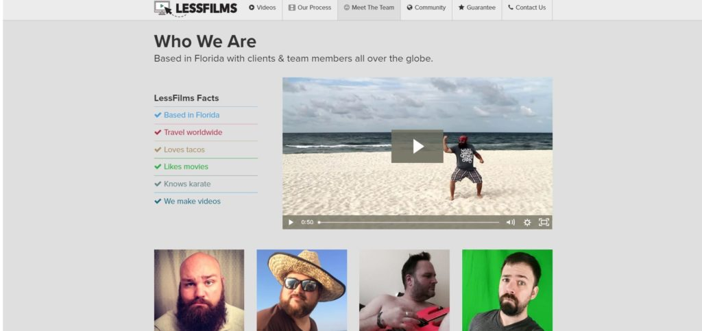 agina chi siamo LessFilms