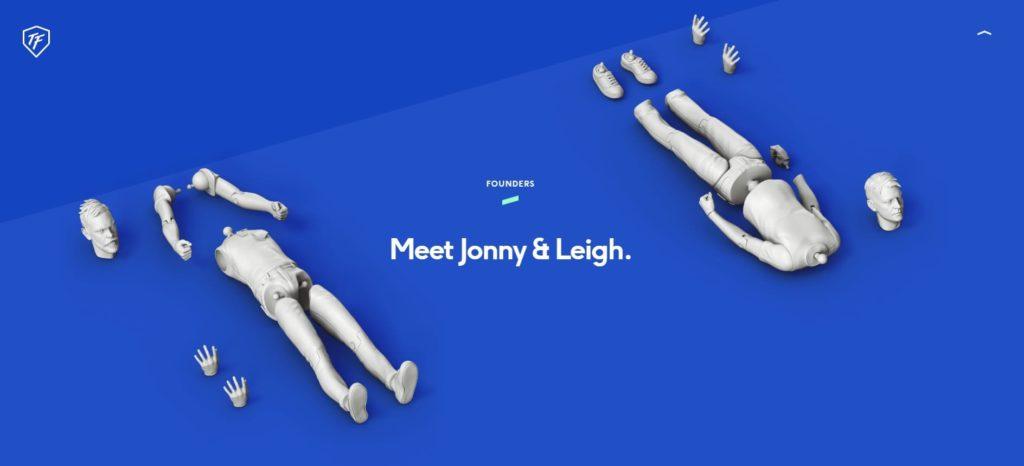 pagina chi siamo ToyFight