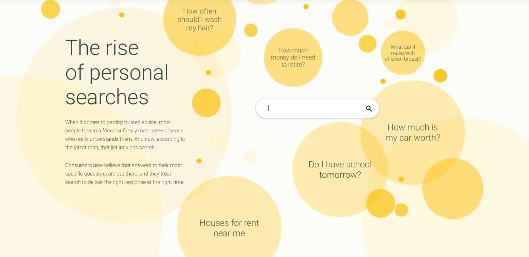 ricerche personali google