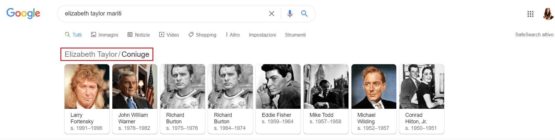 breadcrumbs ricerca google